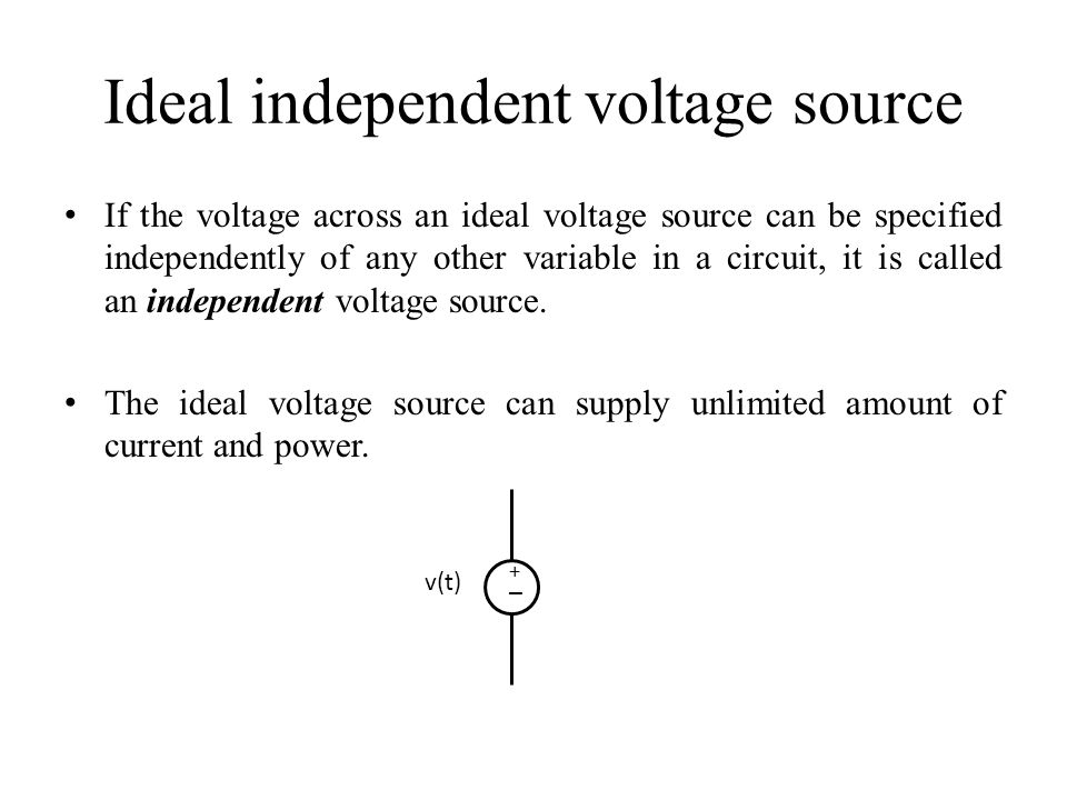 how to find voltage across a current source