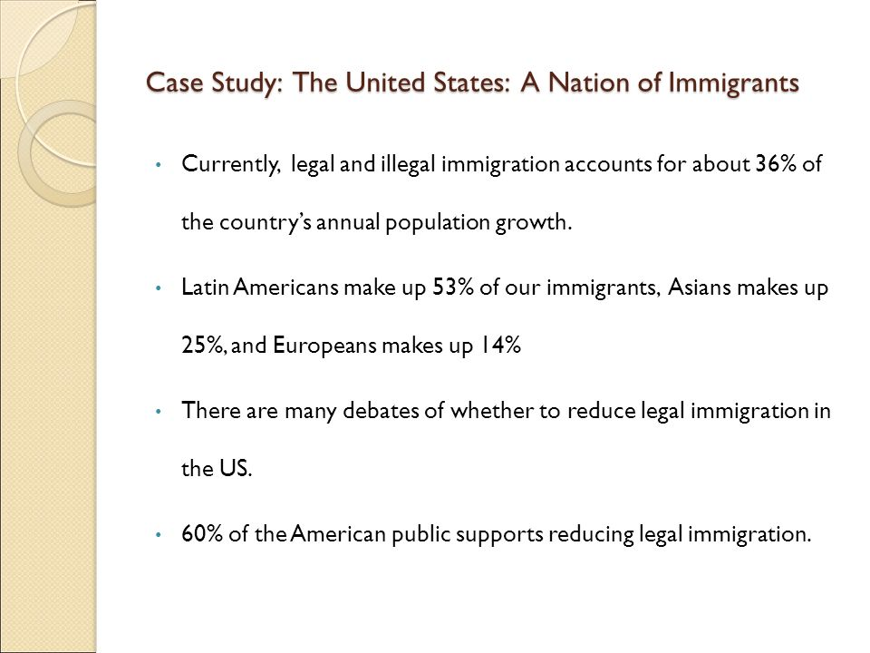 Case Study: The United States: A Nation of Immigrants