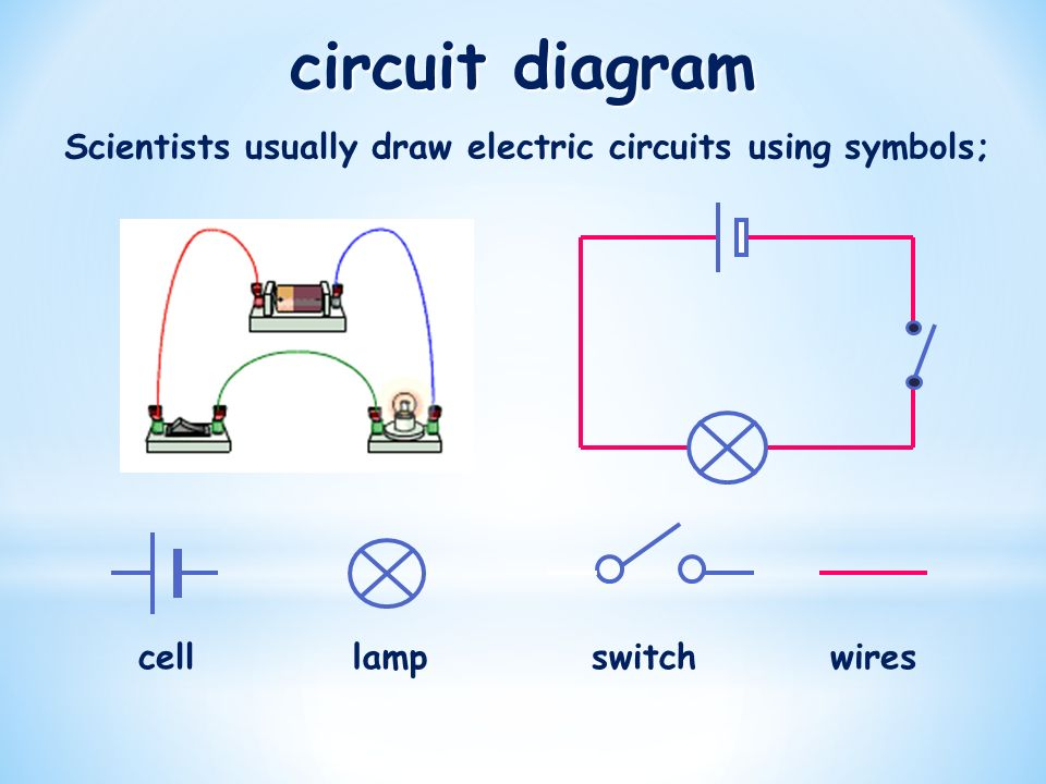 Attractive Cell Symbol Composition - Electrical Circuit Diagram ...