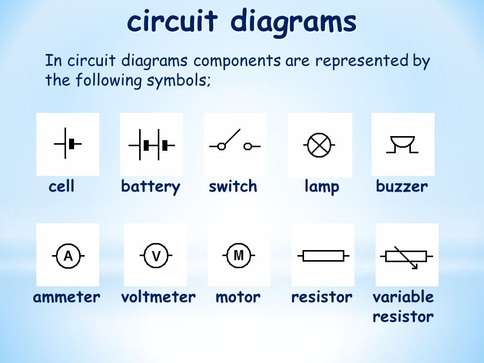Exelent What Component In A Circuit Does This Symbol Represent ...