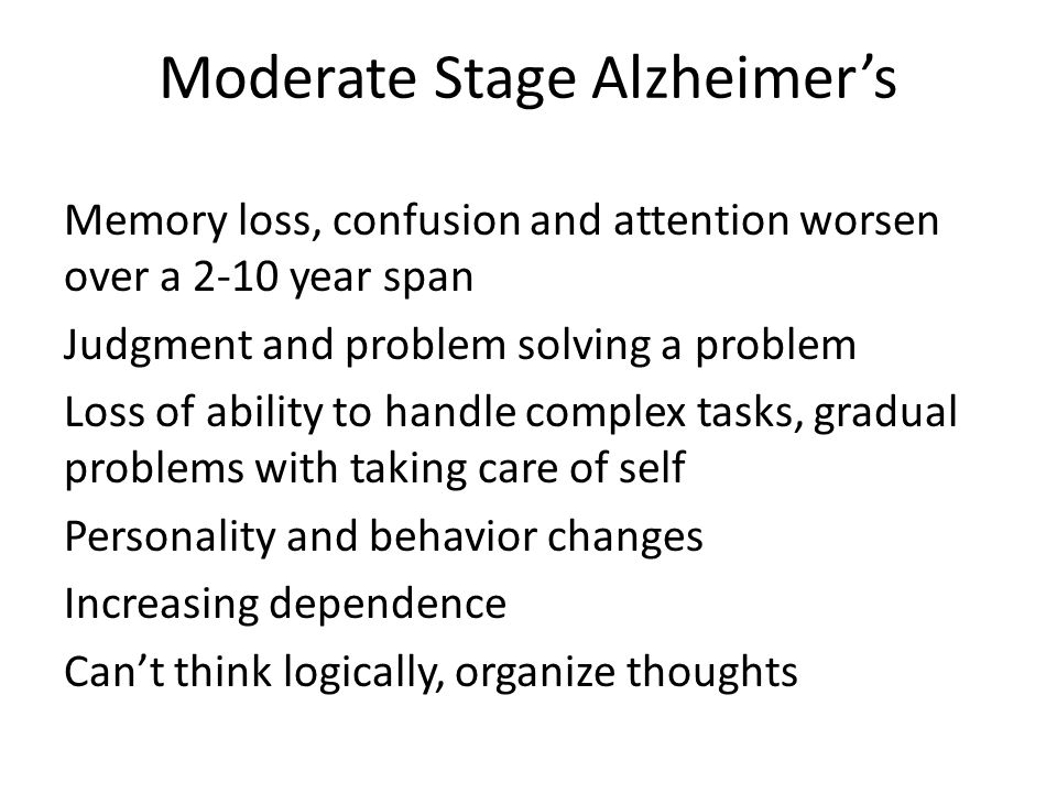 the memory spectrum is it alzheimers disease ppt download