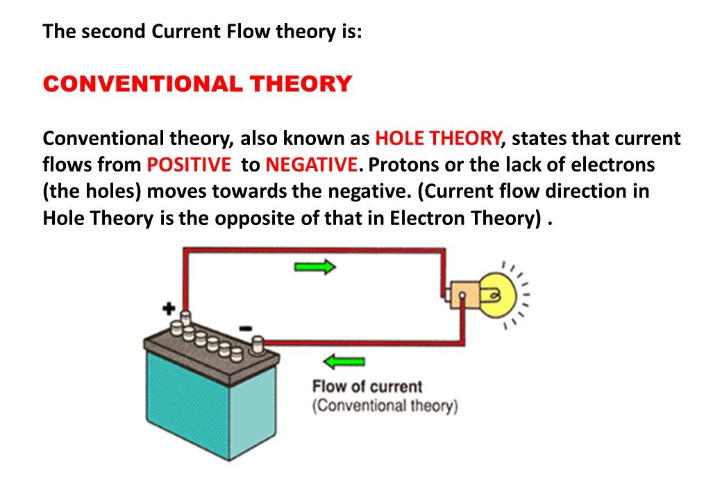 The second Current Flow theory is: