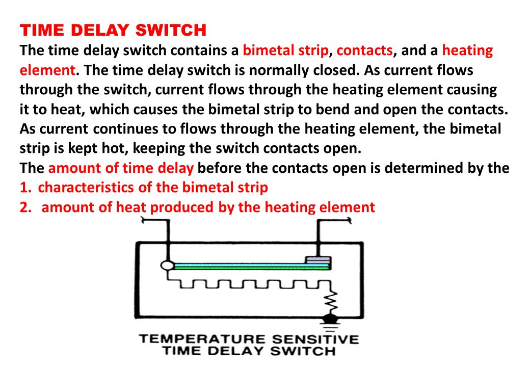 TIME DELAY SWITCH