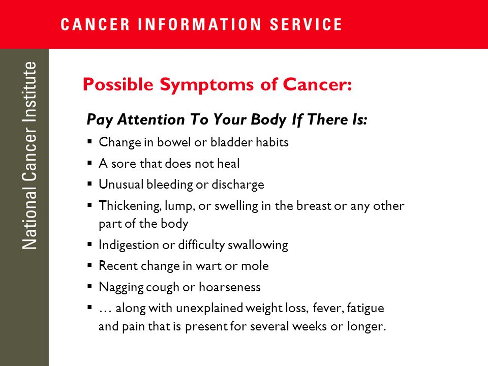 Warning Signs of Breast Cancer: Symptoms