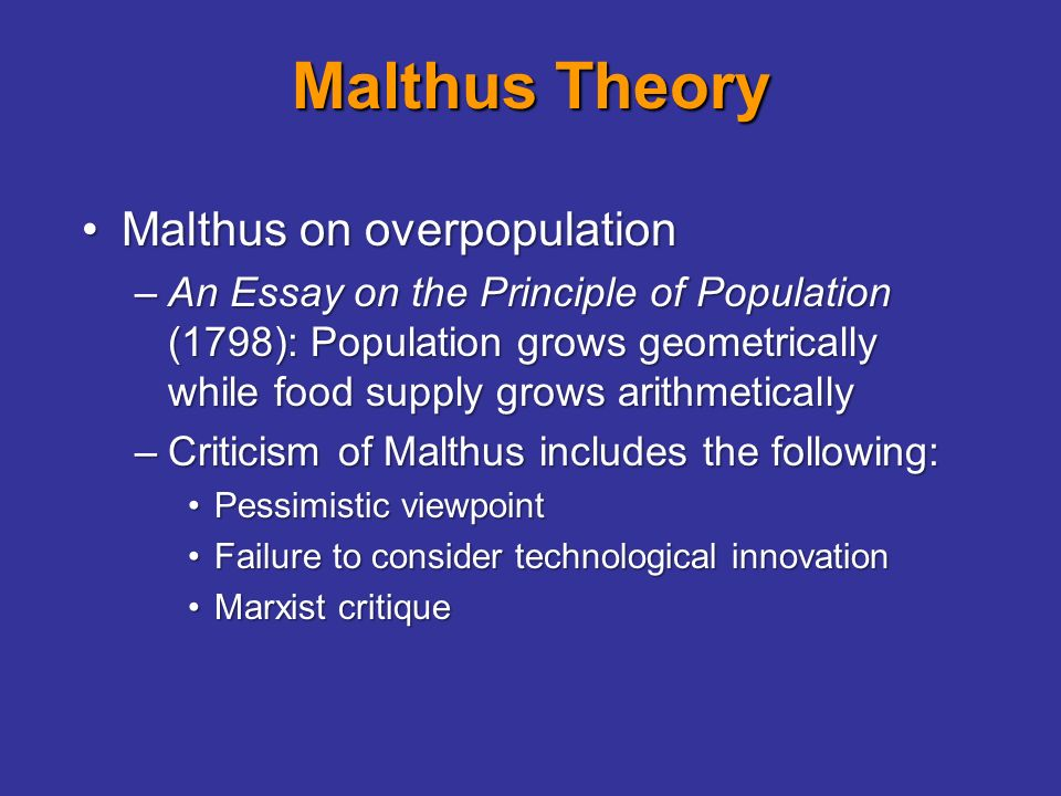 malthusian theory of population essay malthusian theories of population growth