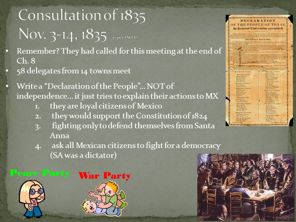 The Texas Revolution Part 1 Ppt Video Online Download