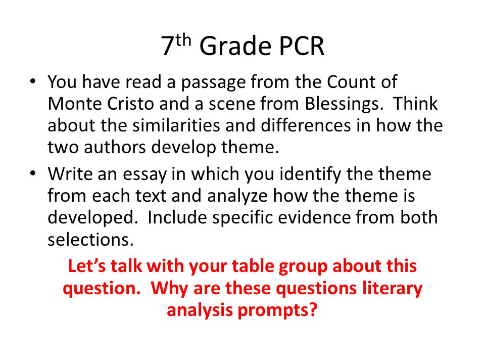 essay prompts for 7th graders