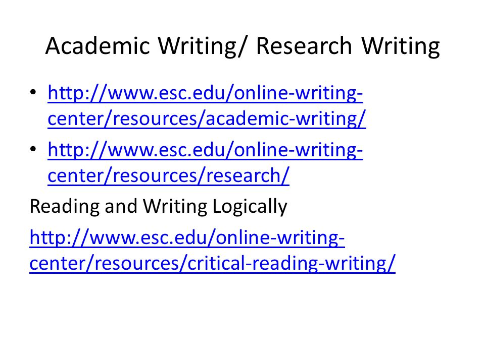academic writing online resources Reflective writing in it law academic integrity for law  research and learning online  our wide range of resources will help you achieve your goals.