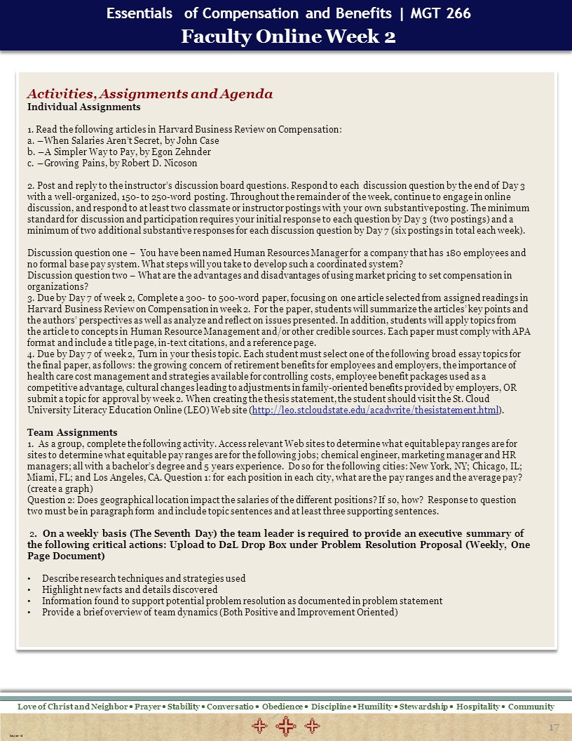 three essays on top management team compensation Top human resource management challenges employee compensation wp 95-04 page 3 second, both benefits and cash compensation can be described in terms of their level (how much) most organizations use one or more market pay surveys to help determine what.