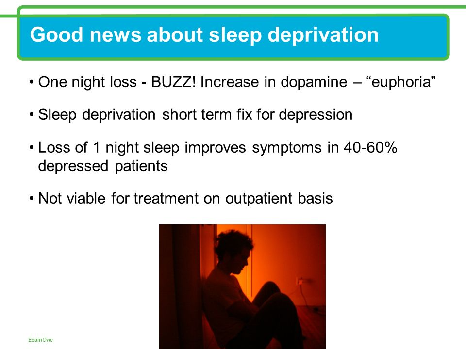 sleep deprivation and depression pdf