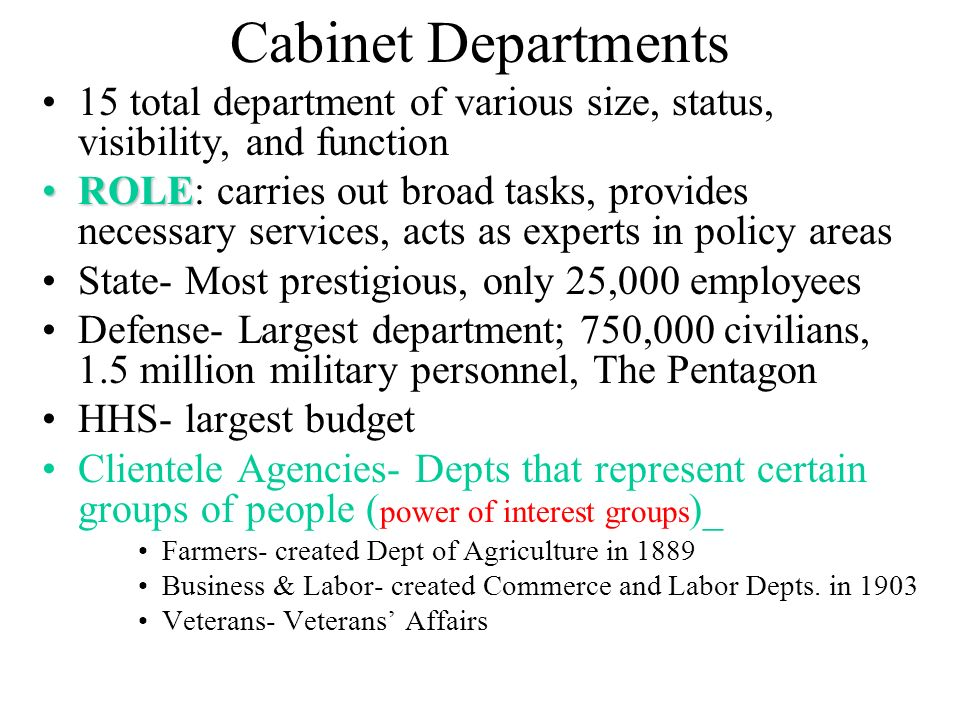 THE EXECUTIVE BRANCH. - ppt download