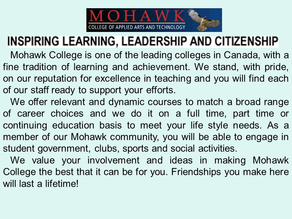 A basic process to follow when writing an essay mohawk college ...