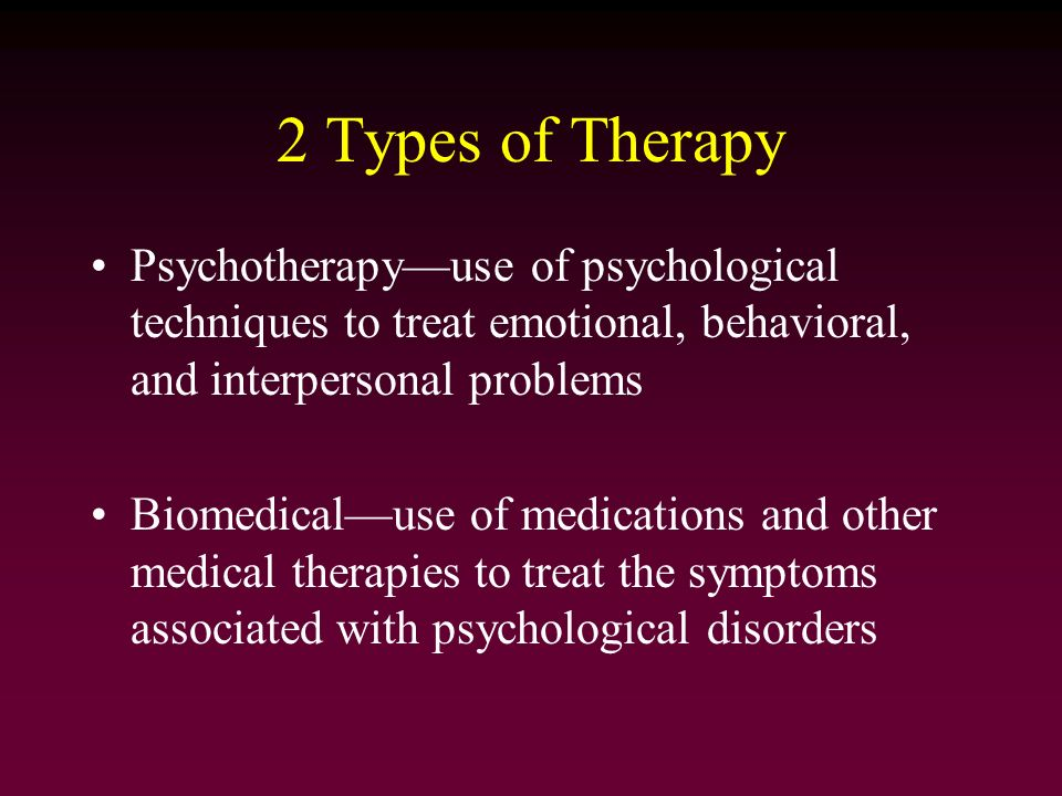 different methods of counseling and psychotherapy There are dozens of types of therapists [psychotherapists], each with a different method, speciality, salary or degree if you are interested in working with a psychotherapist, this guide will offer all the information you need to find the professional who best fits your challenges, lifestyle .