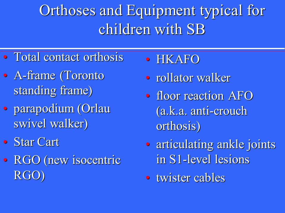 Catherine r thompson pt phd ms ppt video online download for Floor reaction orthosis
