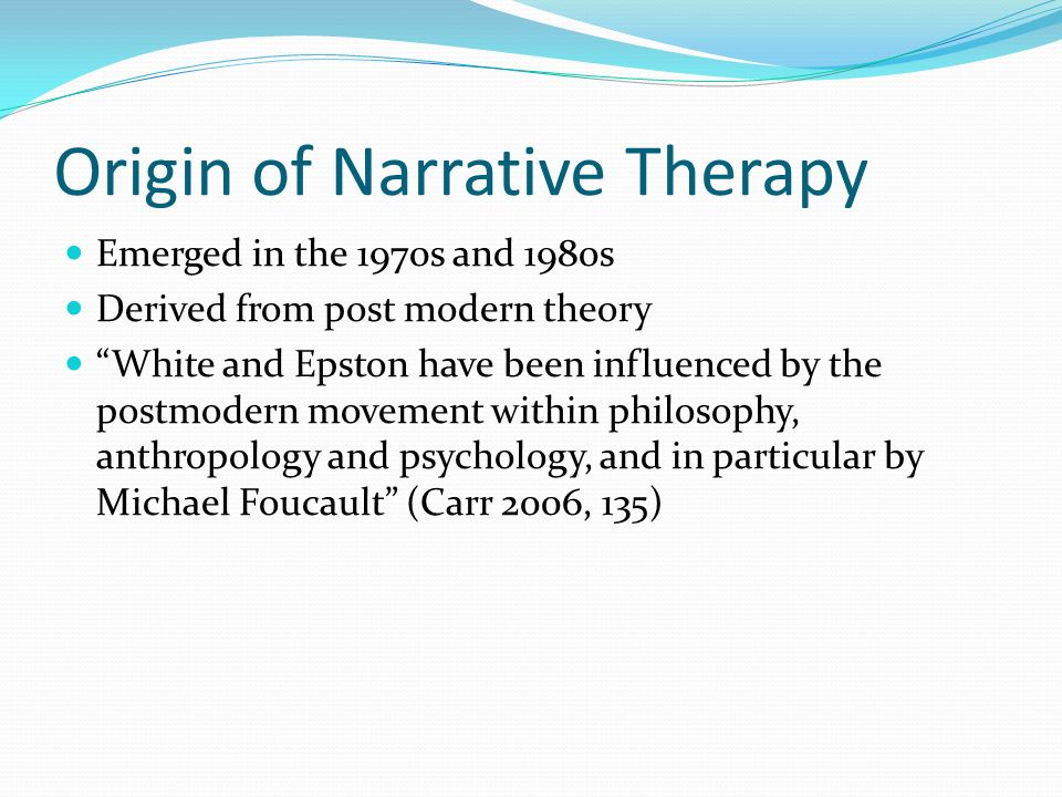 narrative therapy and family therapy essay 250000 free narrative therapy papers & narrative therapy essays at #1 essays bank since 1998 biggest and the best essays bank.