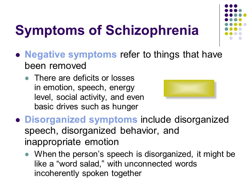 What Are the Symptoms of Schizophrenia?