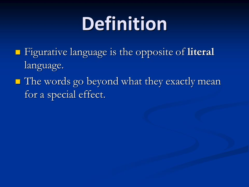 how figurative language affects tone in Figurative language imagery related to word meaning is figurative language, which often plays a crucial role in both condensing language yet expanding meaning most generally, figurative language refers to language that is not lit.