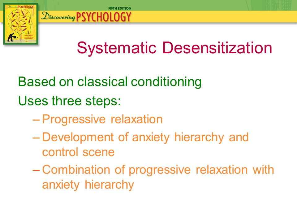 systematic desensitization therapy anxiety pdf