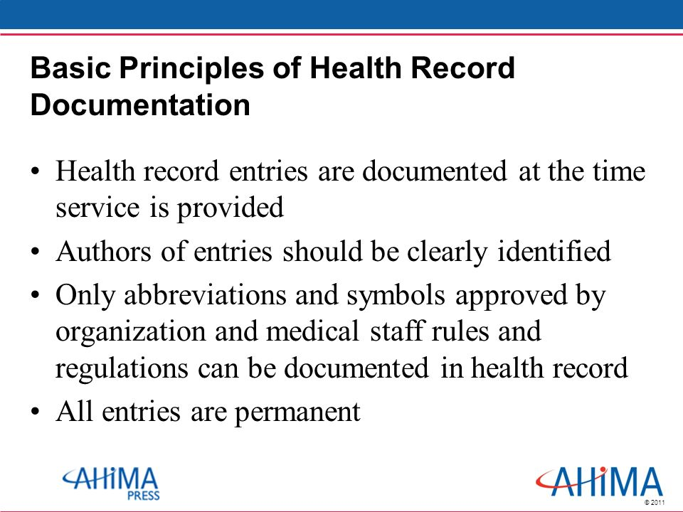 Chapter 3 Content And Structure Of The Health Record Ppt Video