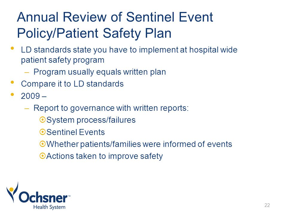 review of patient safety standards for Patient safety review of external reports regarding patient safety table 31 mhs vs ca standards comparison.