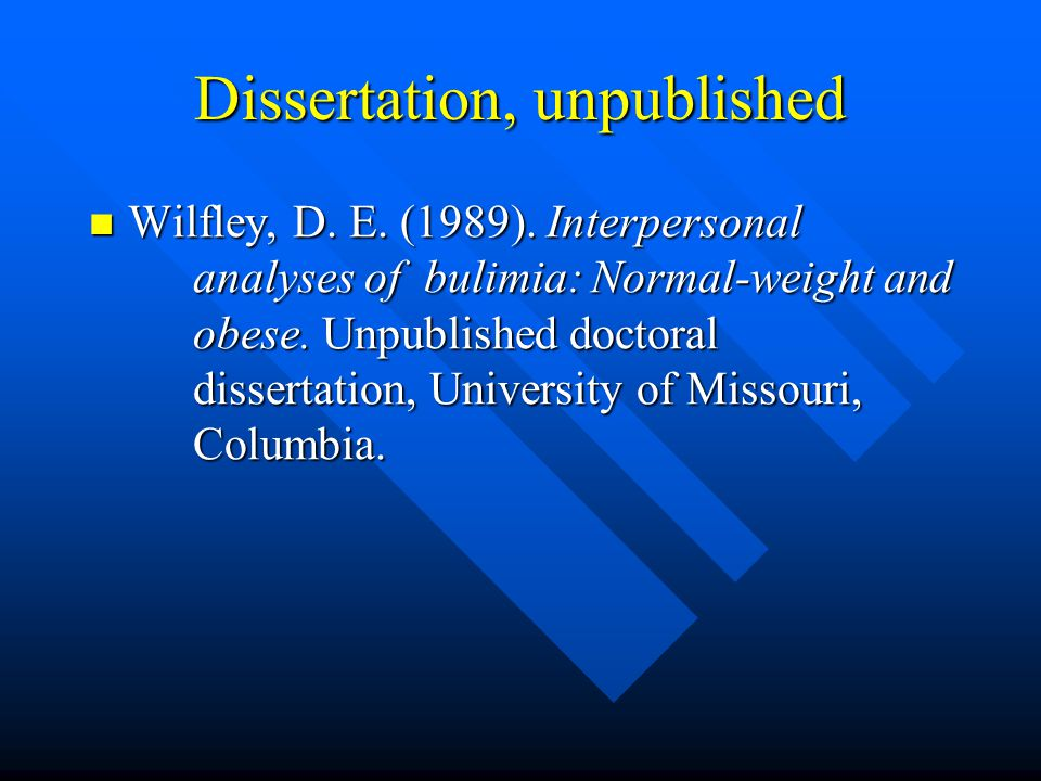 university of missouri columbia dissertations The writers' room is an academic writing program for those of you working on theses, dissertations and journal articles professionalization week will be a series of professional development opportunities on topics designed to help you move toward your intended career path.