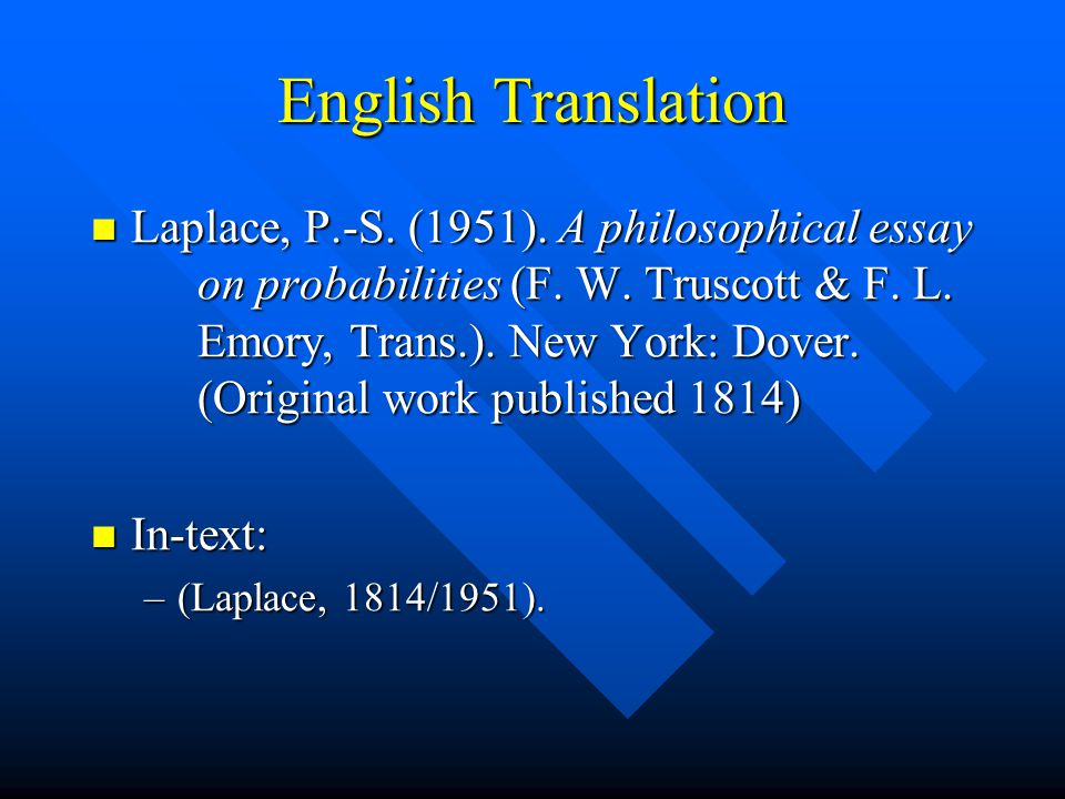 using apa style manual for scholarly publishing ppt  55 english translation