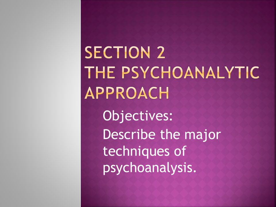psychoanalytic criticism methods employed by freud - sigmund freud's theory of psychoanalysis freud's methods of  psychoanalytic criticism  one of the original methods employed by freud.