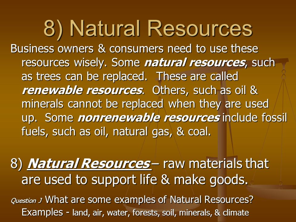 Natural Resources Used To Make Computers