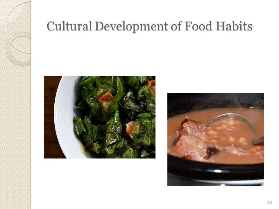 food habits and culture With today's health-conscious millennials crafting a food culture of their very own,  the food industry must quickly evolve to deliver on these.