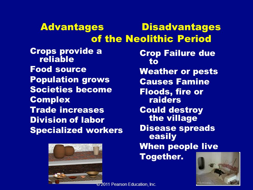 neolithic revolution advantages and disadvantages The agricultural revolution was a time of agricultural development that saw many inventions and advancements in farming techniques  technologies of the neolithic.