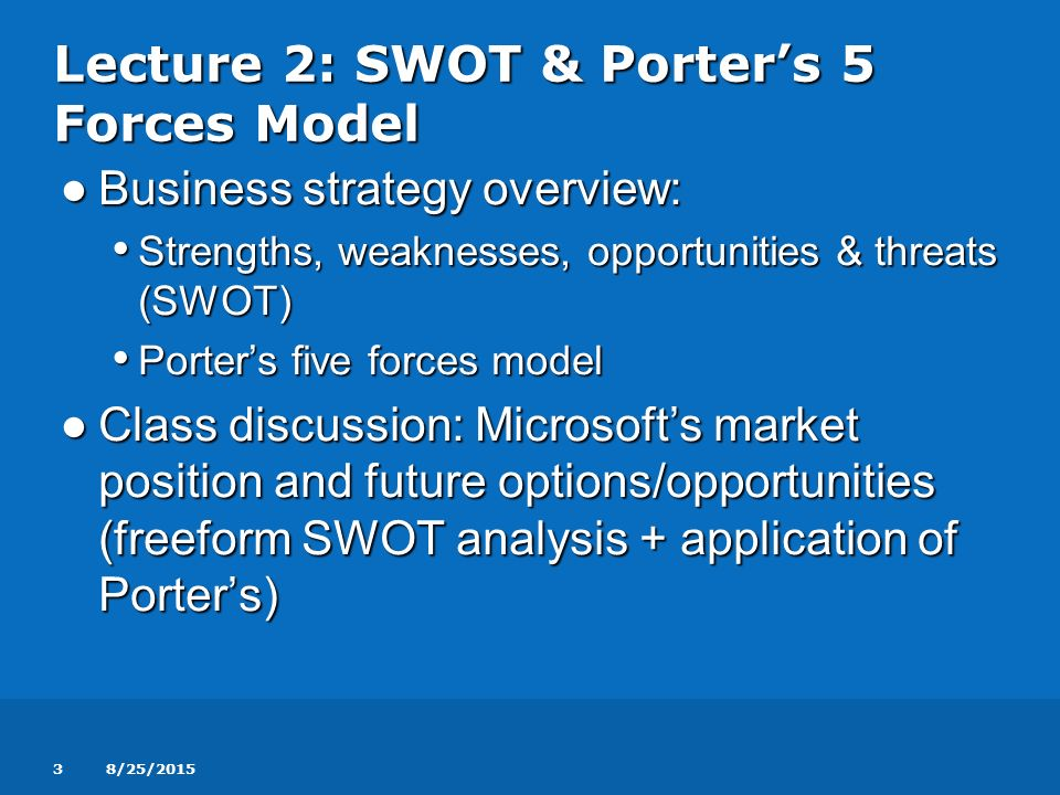"porter s five forces model and three ""porter's five forces"" have shaped a generation of academic research and business practice a three-to-five-year horizon is appropriate."