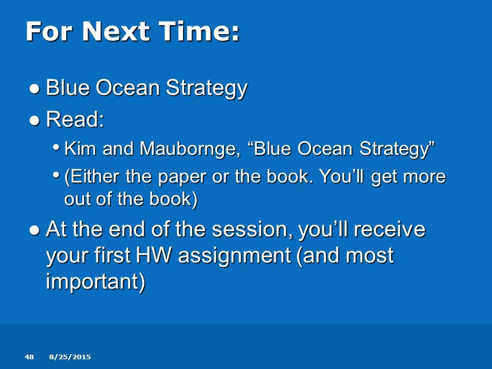 blue ocean strategy book pdf free download