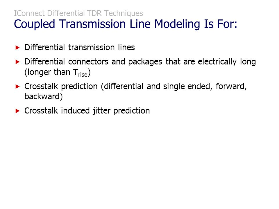 Differential transmission lines