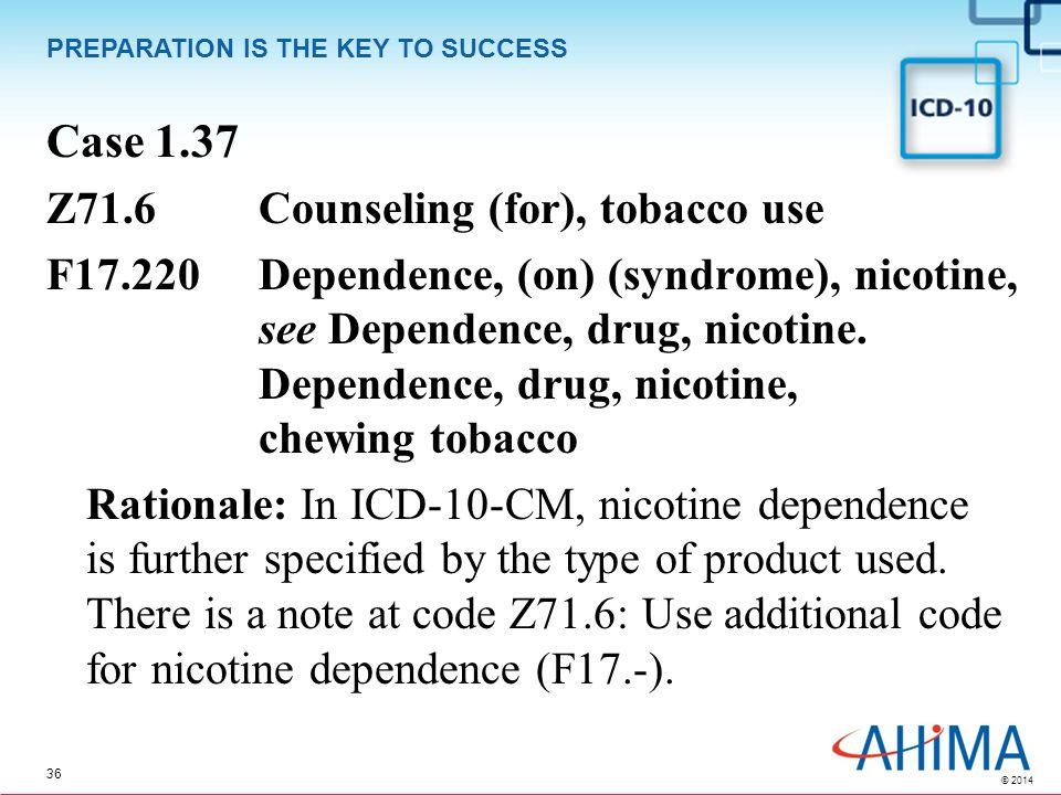 drug addiction icd 10