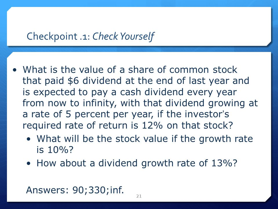 PORTFOLIO MANAGEMENT Stock & Bond Valuation FIN3000 ...