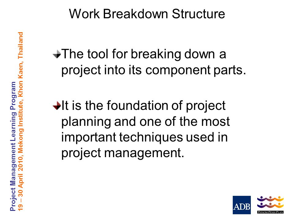 Work Breakdown Structure - ppt video online download