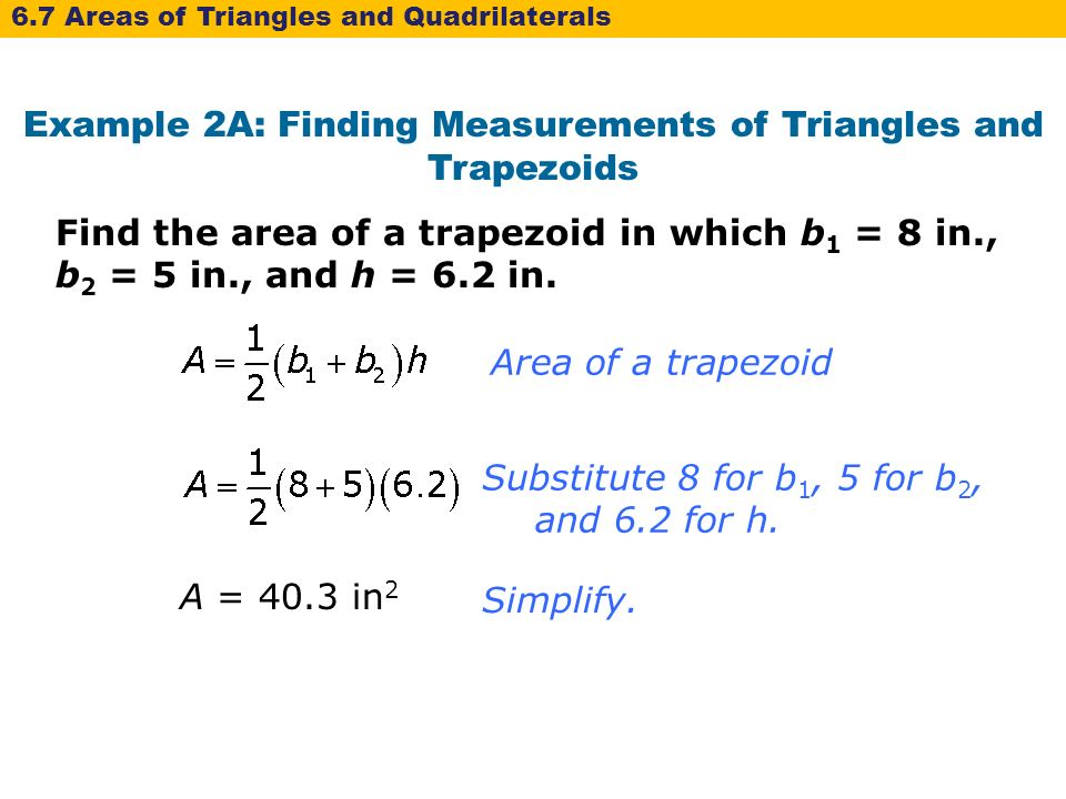 how to find sides of a trapezoid