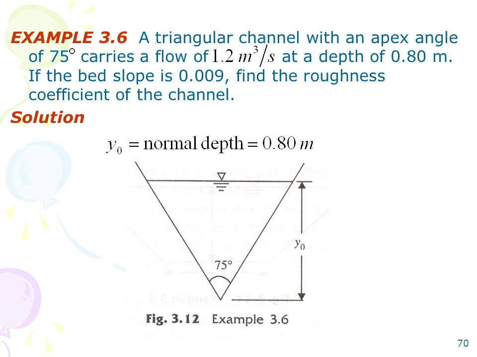 how to find slope with angle of depression