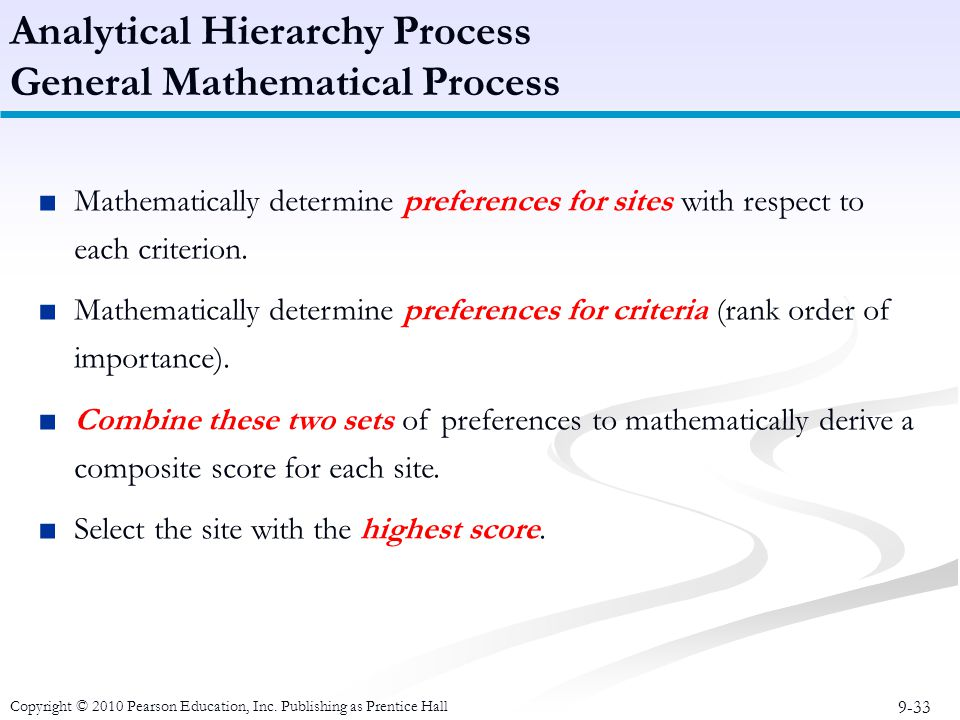 analytical hierarchy process 2 essay Key words: analytical hierarchy process, pavement maintenance, pavement   res essays figure 2 hierarchy of pavement rehabilitation and.