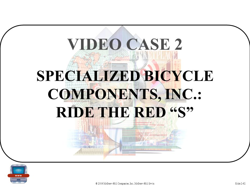 SPECIALIZED BICYCLE COMPONENTS, INC.: RIDE THE RED S