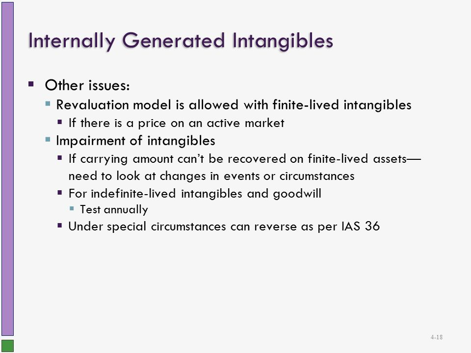 internally generated revenue is the mainstay of any economy Ias 38 includes additional recognition criteria for internally generated intangible assets it can be demonstrated that revenue and the consumption of economic.