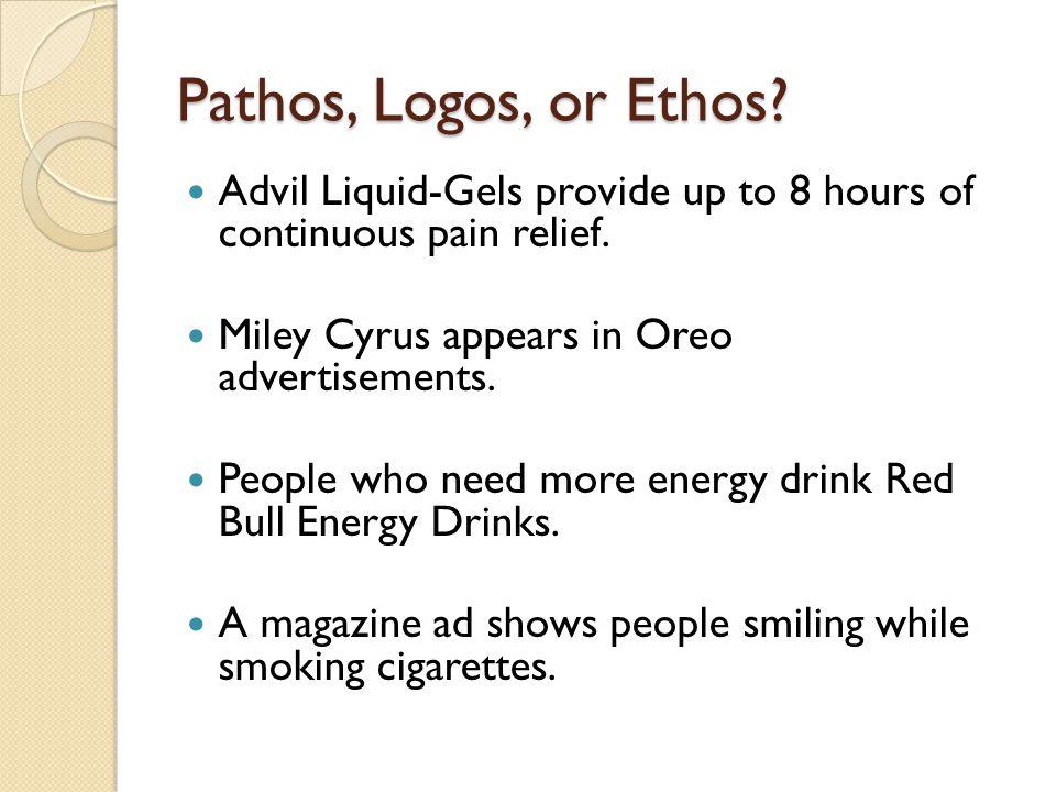 Red bull ethos logs pathos | College paper Sample