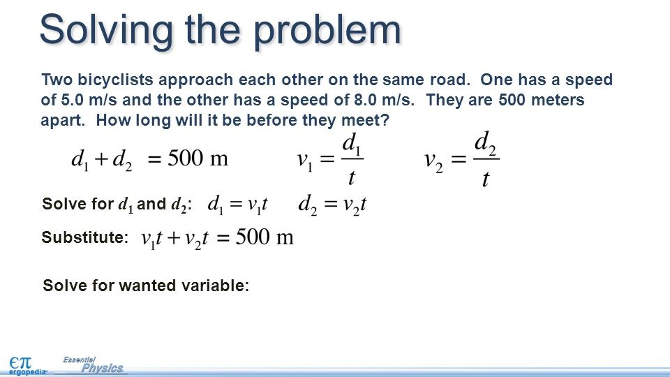 how to solve for a variable