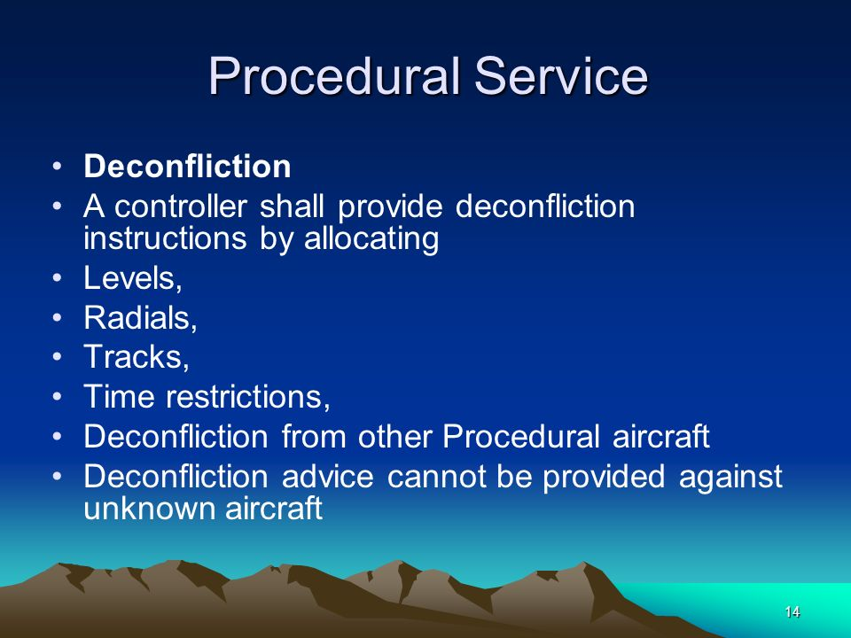 A controller shall provide deconfliction instructions by allocating