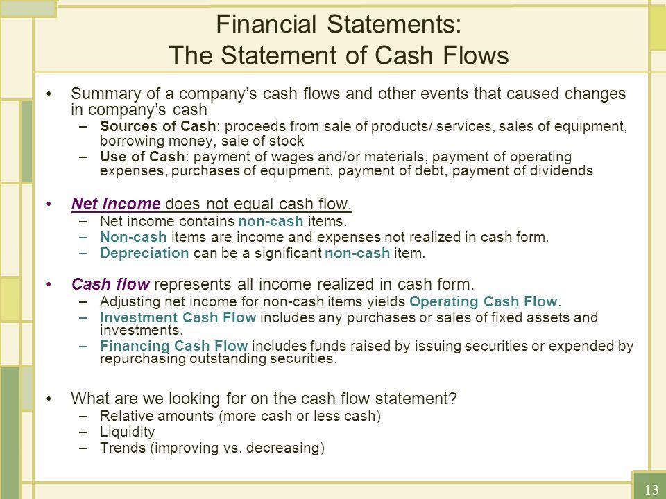 Partitioning Cash Flows - NACM