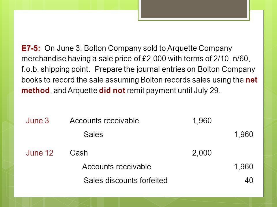 Accounts Receivable. - ppt video online download