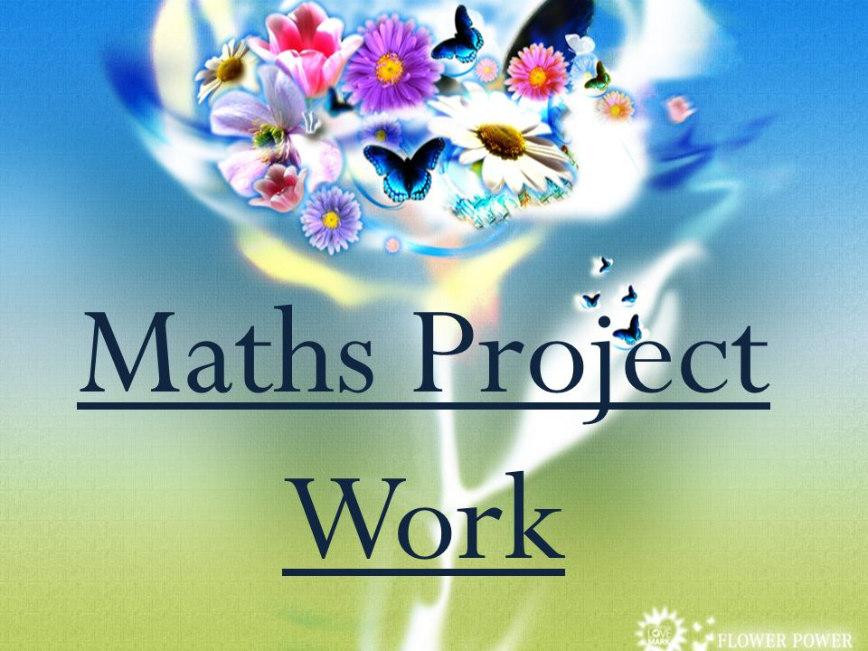 Maths Project Work. - ppt video online download