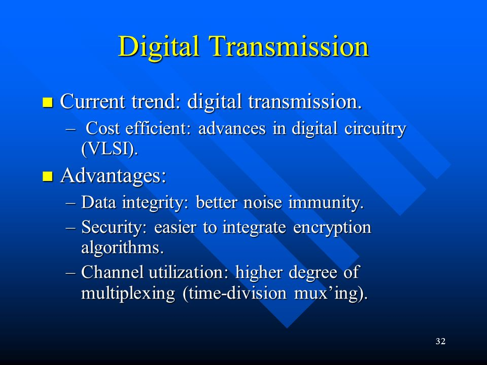 digital data transmission This video shows introduction of analog and digital transmission in computer network using example.