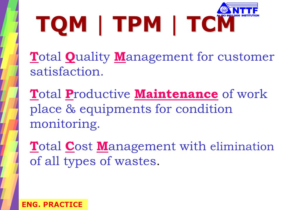 The Eight Elements of TQM