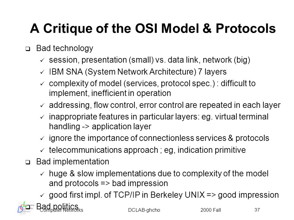 importance of application layer in osi model